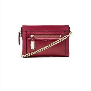 Rebecca Minkoff Mini Crosby Crossbody in Merlot